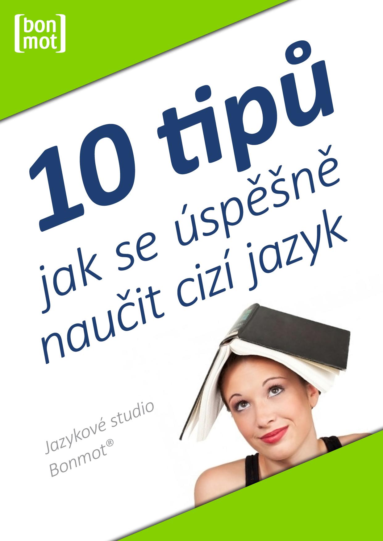 E-book 10 tipů, jak se úspěšně naučit cizí jazyk