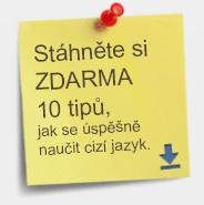 Stáhněte si ZDARMA E-book 10 tipů jak se úspěšně naučit cizí jazyk