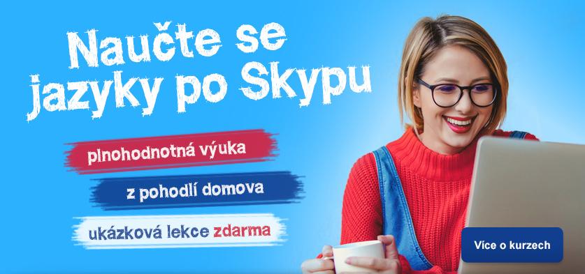 Naučte se jazyky po Skypu